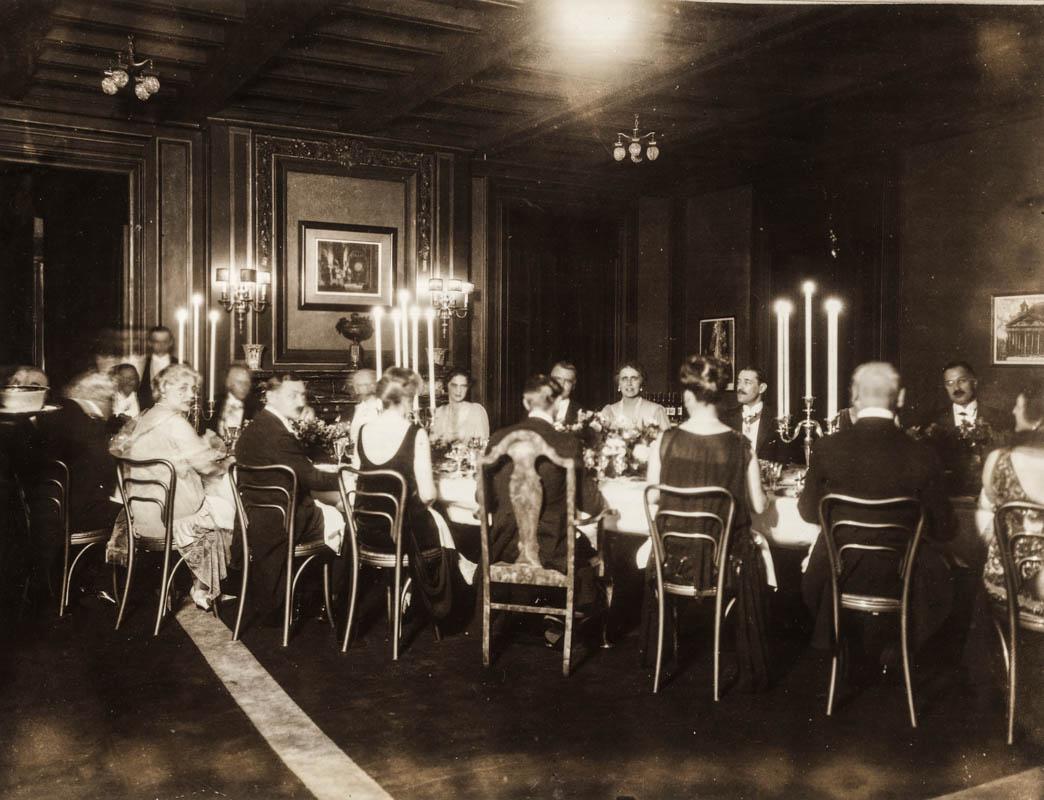 Dineu la Legația României din Washington <br /> Sursă foto: Arhivele Naționale ale României