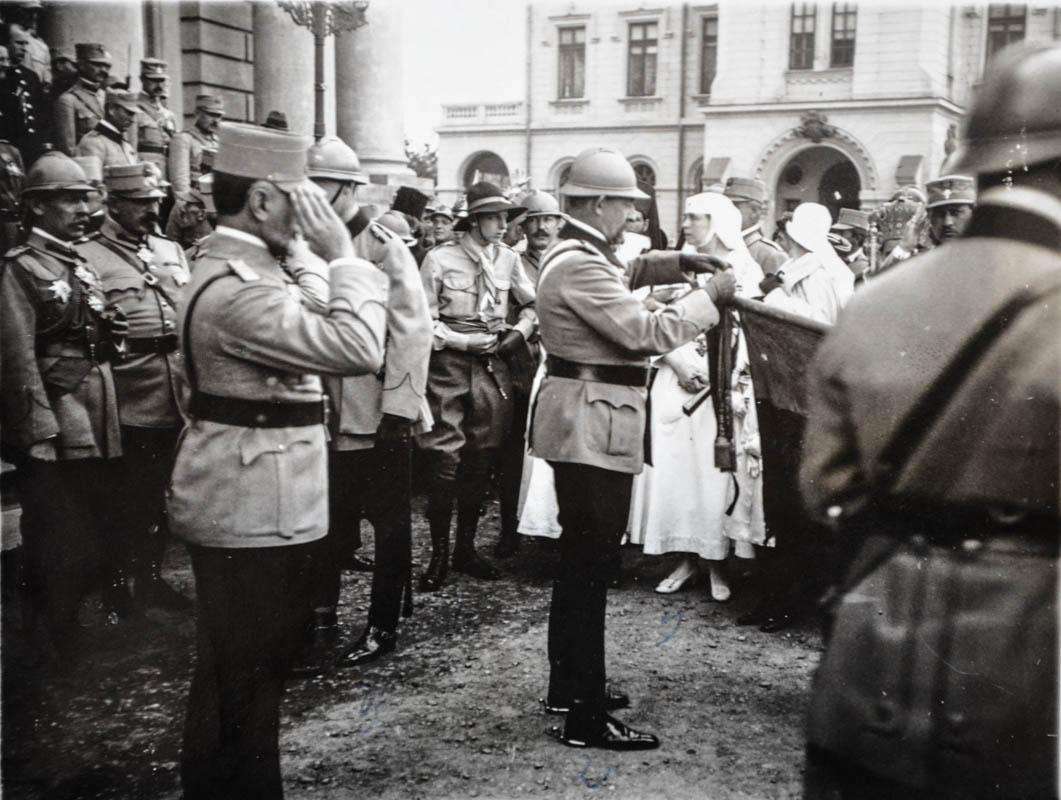 Misiunea Crucii Roșii Americane în România <br /> Sursă foto: Arhivele Naționale ale României