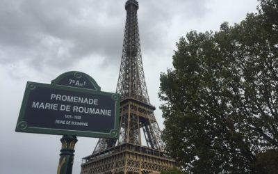 O stradă din Paris poartă oficial numele Reginei Maria a României