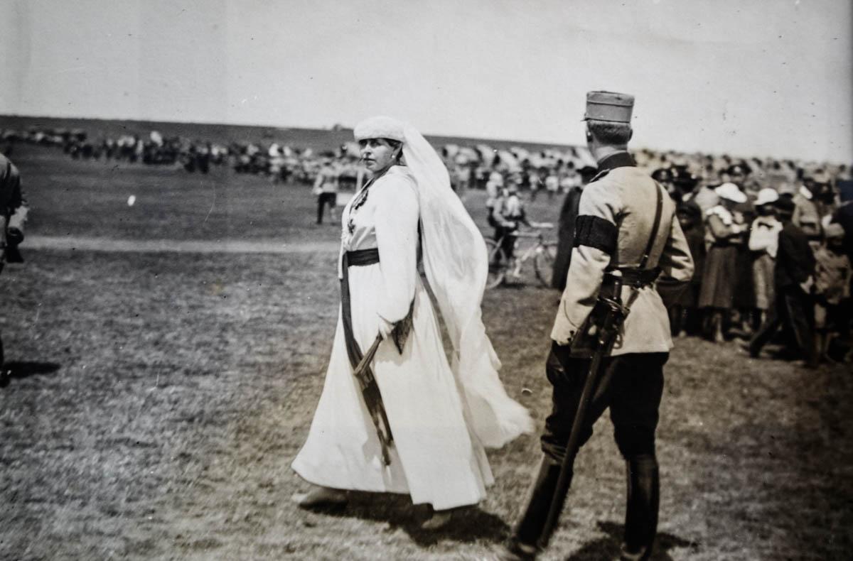 Regele Ferdinand şi Regina Maria, Iaşi, 1917 <br /> Sursă foto: Arhivele Naționale ale României