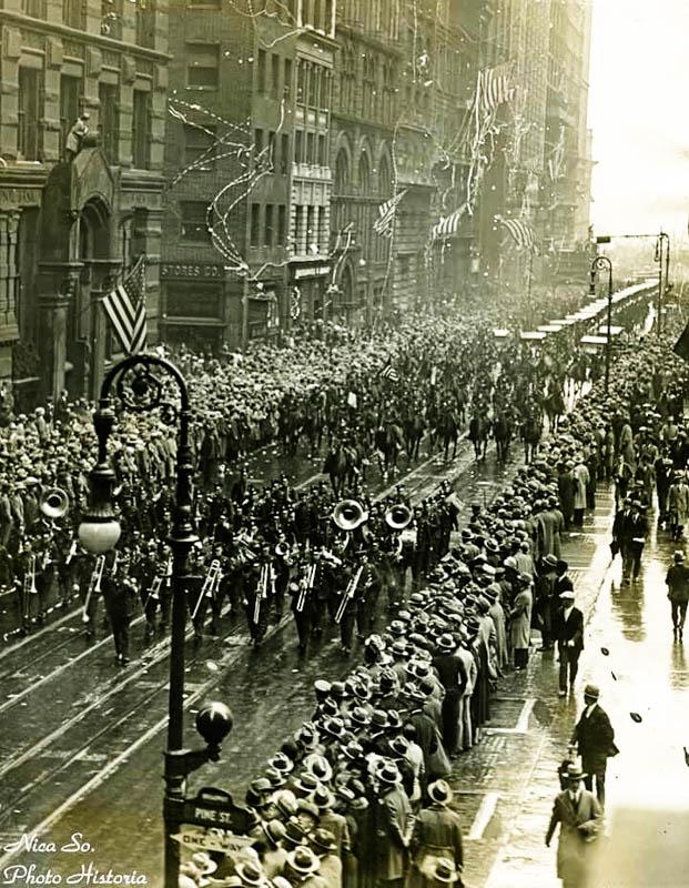 Sosirea în New York. Sursa foto: Historia