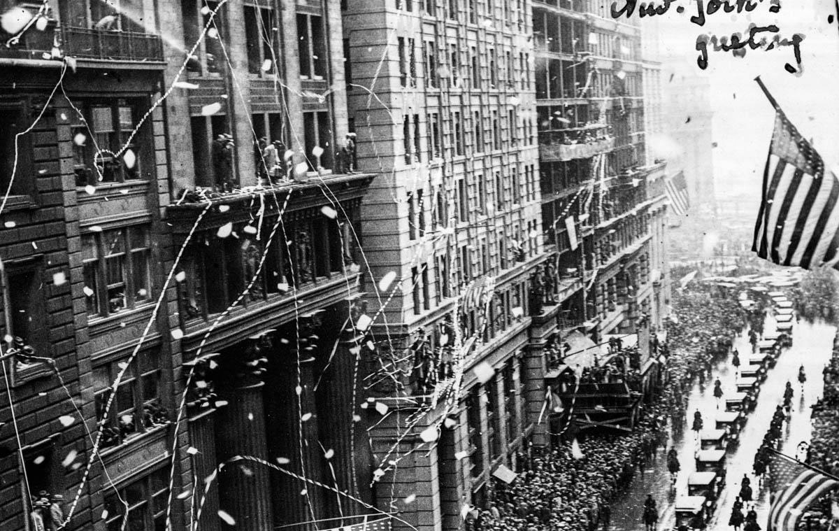 Primirea în New York  <br /> Sursă foto: Arhivele Naționale ale României