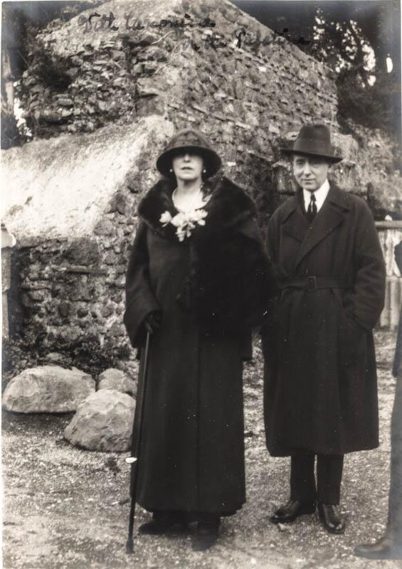 Regina Maria la Roma, 1924 <br /> Sursă foto: Arhivele Naționale ale României