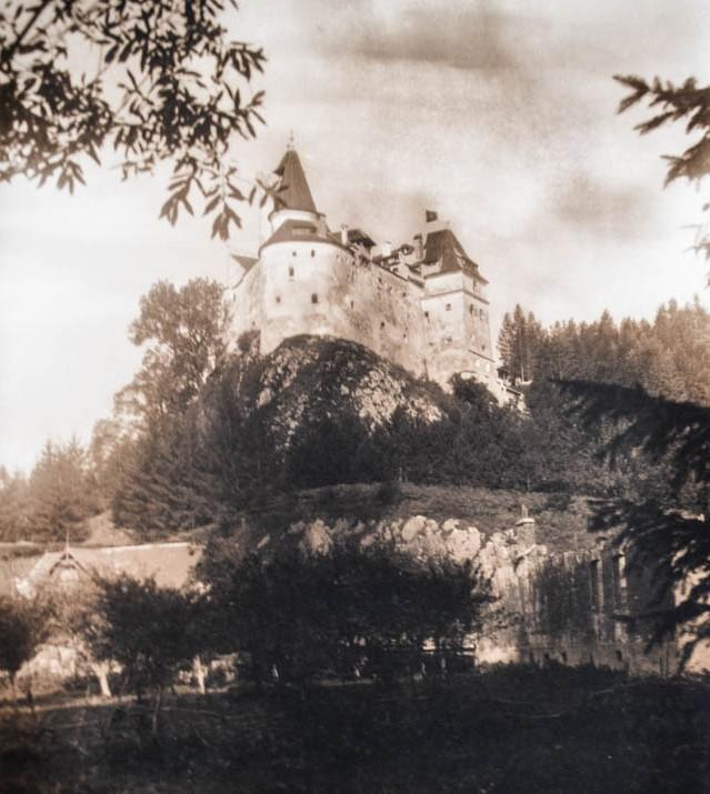 Castelul Bran. Sursă foto: Arhivele Naționale ale României