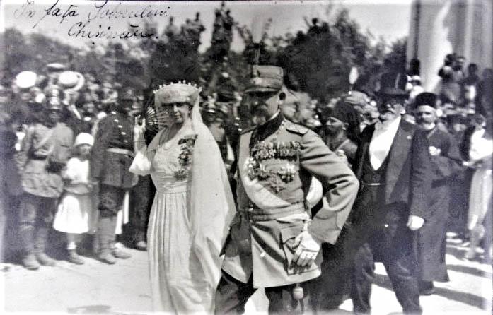 Sosirea la Chișinău a Regelui Ferdinand și a Reginei Maria <br /> Sursă foto: Arhivele Naționale ale României